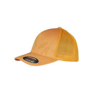 Urban Classics Flexfit Jaquard Camo Cap® orange