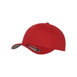 Urban Classics Flexfit Wooly Combed red