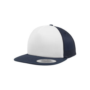 Urban Classics Foam Trucker with White Front nvy/wht/nvy