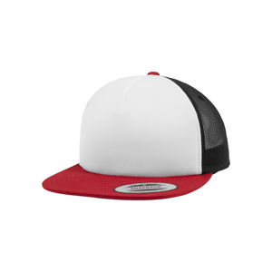 Urban Classics Foam Trucker with White Front red/wht/bk