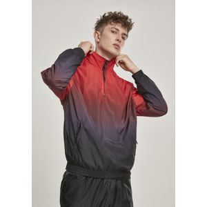 Urban Classics Gradient Pull Over Jacket blk/red