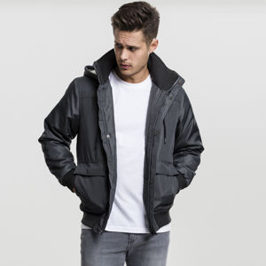 Urban Classics Heavy Hooded Jacket darkgrey