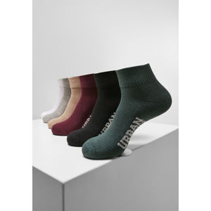 Urban Classics High Sneaker Socks 6-Pack wintercolor