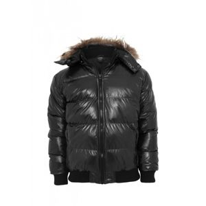 Urban Classics Hooded Bubble Fur Blouson black