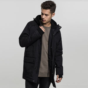 Urban Classics Hooded Heavy Thumbhole Parka black