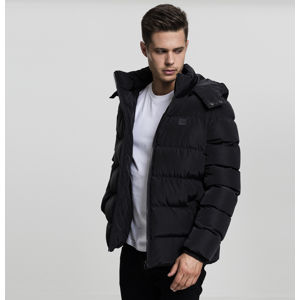 Urban Classics Hooded Puffer Jacket black