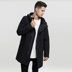 Urban Classics Hooded Structured Parka charcoal