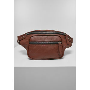Urban Classics Imitation Leather Shoulder Bag brown