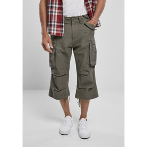 Urban Classics Industry Vintage Cargo 3/4 Shorts olive