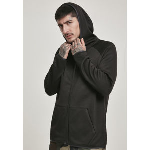Urban Classics Knit Fleece Zip Hoody black