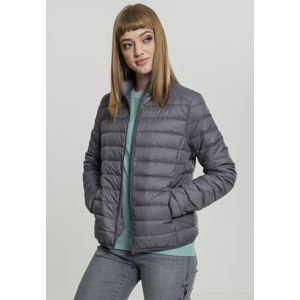 Urban Classics Ladies Basic Down Jacket darkgrey