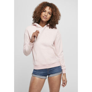 Urban Classics Ladies Color Melange Hoody pink melange