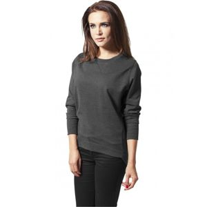 Urban Classics Ladies Crewneck charcoal