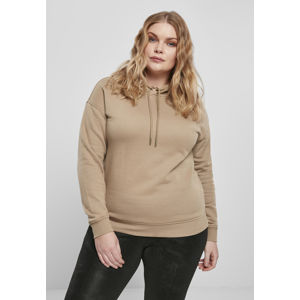 Urban Classics Ladies Hoody warm sand