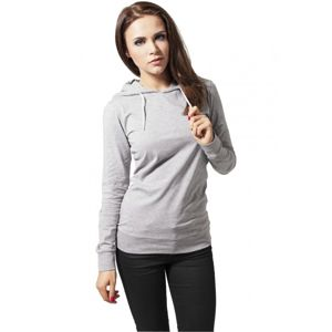 Urban Classics Ladies Jersey Hoody grey