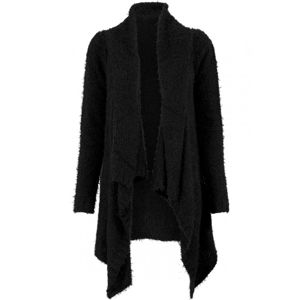 Urban Classics Ladies Knit Feather Cardigan blk/blk