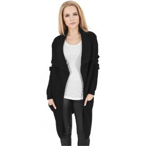Urban Classics Ladies Knitted Long Cape black