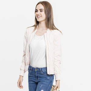 Urban Classics Ladies Light Bomber Jacket light pink