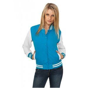 Urban Classics Ladies Light College Jacket tur/wht