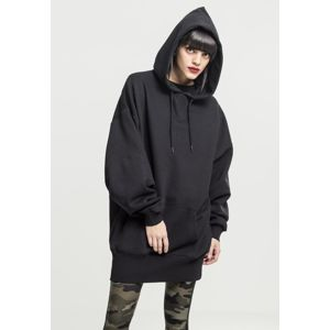Urban Classics Ladies Long Oversize Hoody black