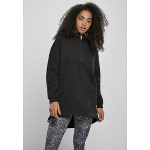 Urban Classics Ladies Long Oversized Pull Over Hoody black