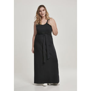 Urban Classics Ladies Long Racer Back Dress black