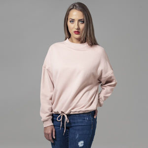 Urban Classics Ladies Oversized Crew light rose