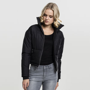Urban Classics Ladies Oversized High Neck Jacket black