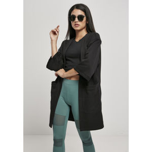 Urban Classics Ladies Oversized Terry Cardigan black