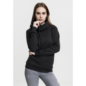 Urban Classics Ladies Quilt Hoody black