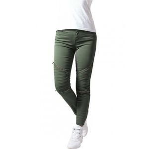 Urban Classics Ladies Stretch Biker Pants olive