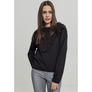 Urban Classics Ladies Terry Volant Crew black