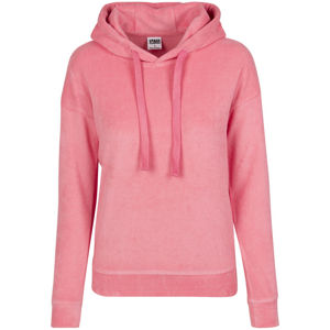 Urban Classics Ladies Towel Hoody pinkgrapefruit