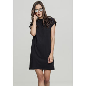 Urban Classics Ladies Turtel Extended Shoulder Dress black