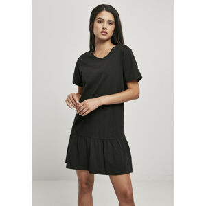 Urban Classics Ladies Valance Tee Dress black