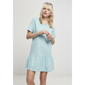 Urban Classics Ladies Valance Tee Dress seablue