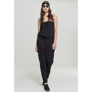 Urban Classics Ladies Viscose Bandeau Jumpsuit black