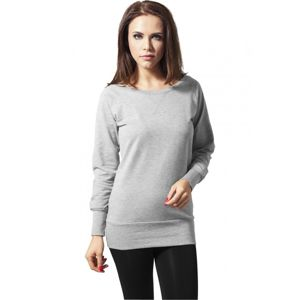 Urban Classics Ladies Wideneck Crewneck grey