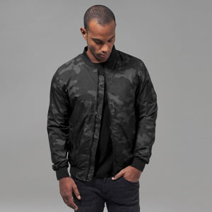 Urban Classics Light Camo Bomber Jacket darkcamo