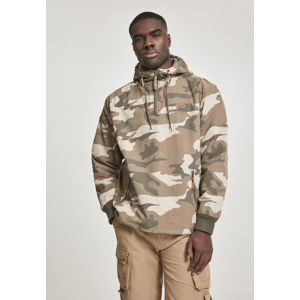 Brandit Pull Over Windbreaker wood camouflage