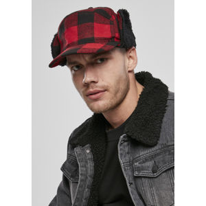 Urban Classics Lumberjack Wintercap red/black