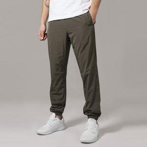 Urban Classics Nylon Training Pants darkolive