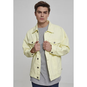 Urban Classics Oversize Garment Dye Jacket powderyellow