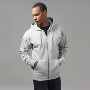 Urban Classics Oversized Sweat Zip Hoody grey