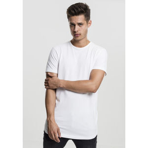Urban Classics Peached Shaped Long Tee offwhite