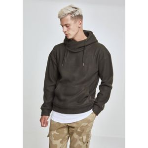 Urban Classics Polar Fleece High Neck Hoody olive
