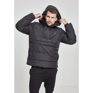 Urban Classics Pull Over Puffer Jacket black