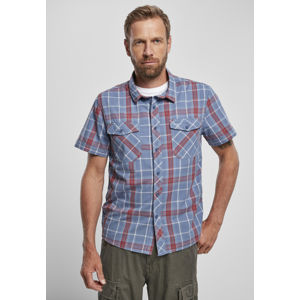 Urban Classics Roadstar Shirt red/blue