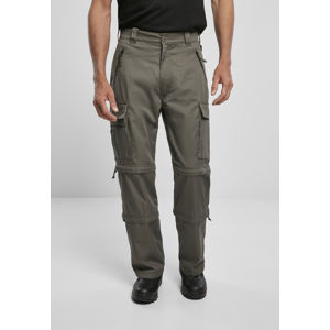 Urban Classics Savannah Removable Legs Pants olive