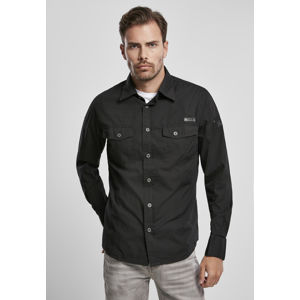 Urban Classics Shirt slim MEN black